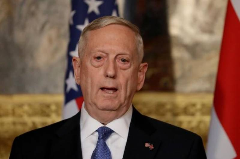 Iran rejects U.S. terror claim by Mattis, blames Saudi