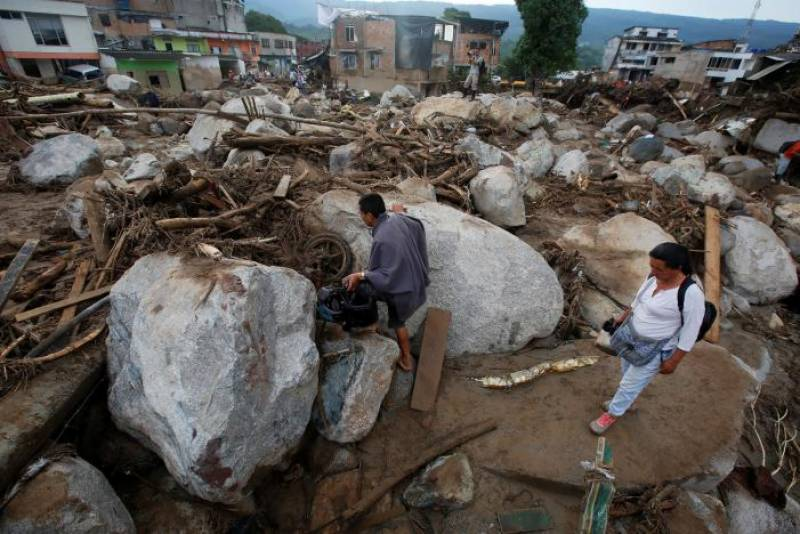 Colombia landslide, flood: Rescuers recover 254 bodies