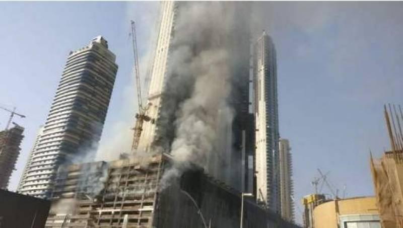 Massive fire engulfs mall in downtown Dubai