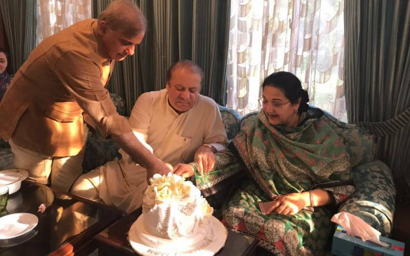PM Nawaz, Kulsoom Nawaz celebrate 46 wedding anniversary