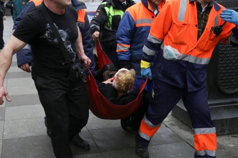 Russia metro blast leaves ten dead