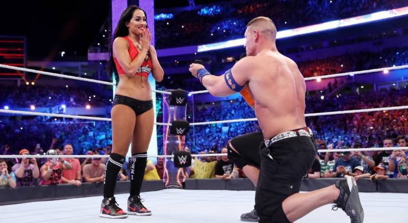Watch: WWE Superstar John Cena proposes fellow wrestler