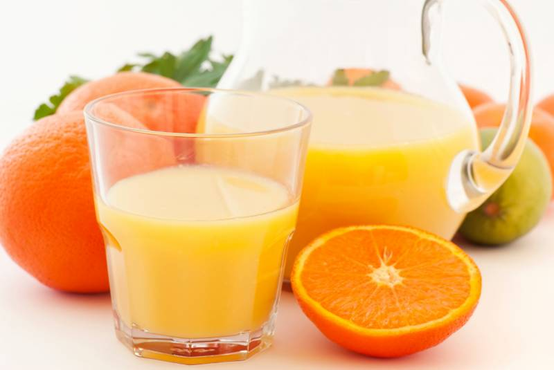 vitamina d laranja