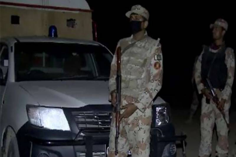 Combing operation in Lahore, Ten suspects arrested
