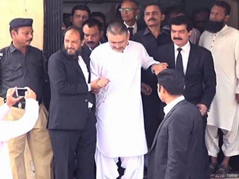 Sharjeel Memon appears before accountability court despite ailment