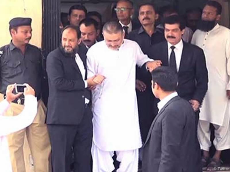 Sharjeel Memon appears before accountability court despite ailment