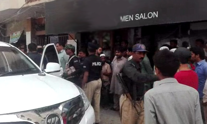Three corpse found in Karachi men's salon