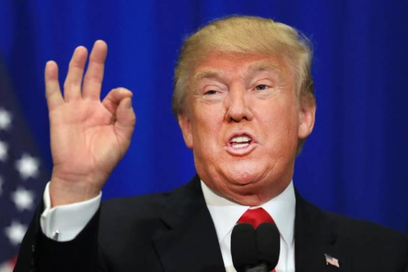 US president Trump orders strikes on Syria