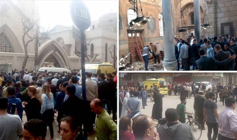25 killed, dozens injured in explosion at Egypt Nile Delta church
