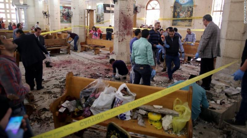 ISIS claims responsibility for Egyptian church bombings