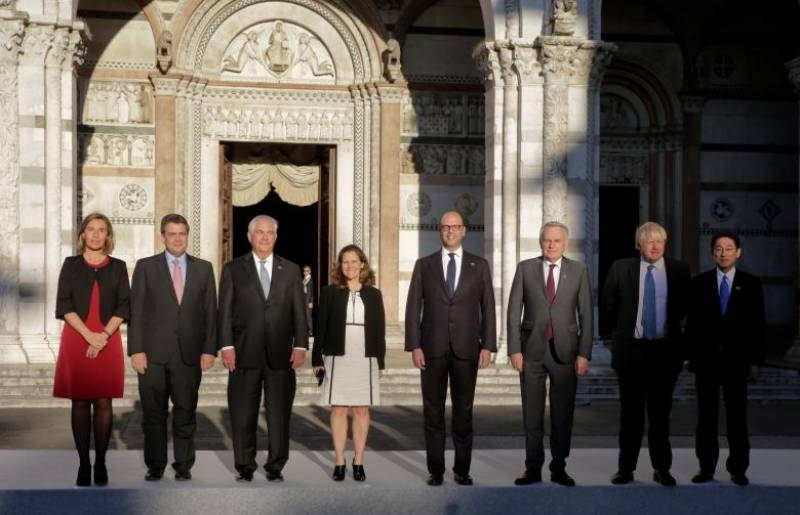 G7 hunts for broad support to isolate Syria's Assad