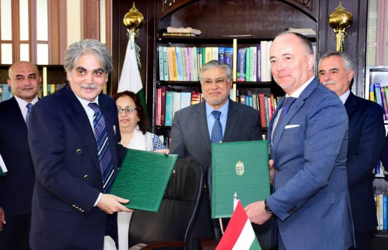 Pakistan, Hungary agree to boost trade ties