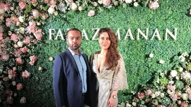 Kareena Kapoor added shine to Faraz Manan's fashion show in Dubai