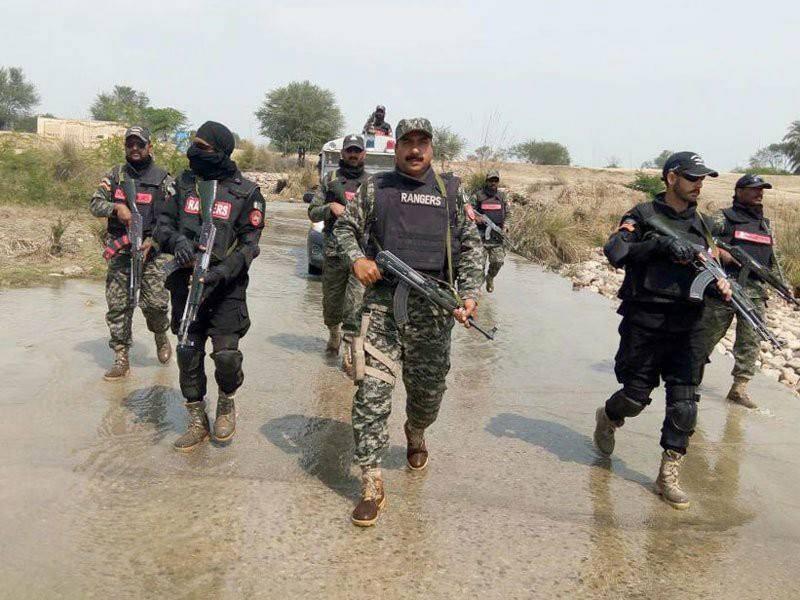 Ten terrorists killed, 3 Rangers personnel martyred in DG Khan