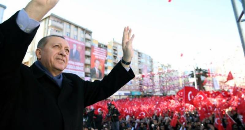 Historic Refrandum in Turkey for presidential powers under way