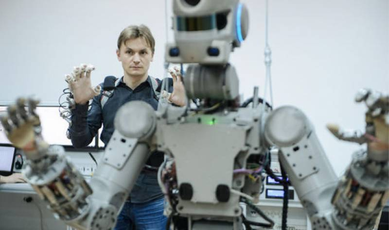 'Russia is sending 'Terminator' robot into Space not a killing machine'
