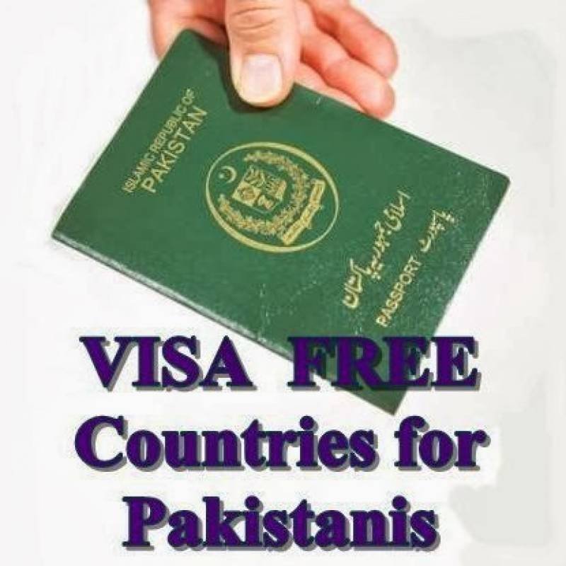 Countries that offer visa-free entry to Pakistanis