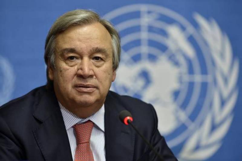 UN chief advises steps to de-escalate tensions on Korean Peninsula