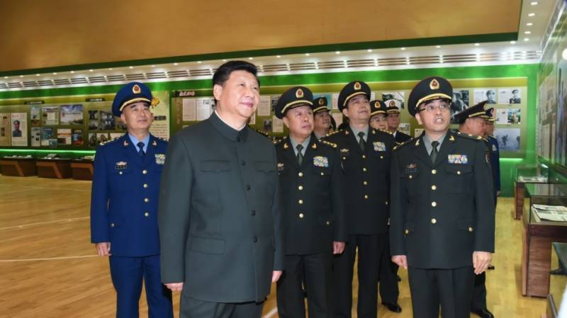 China's Xi announces consolidation of military units