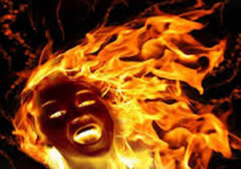 Girl burnt alive by family over marriage refusal