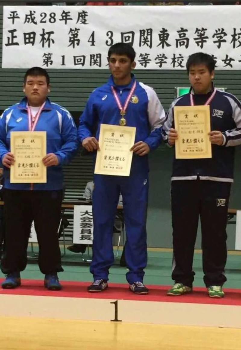 Nephew of Jarah Pehlwan wins junior Championship