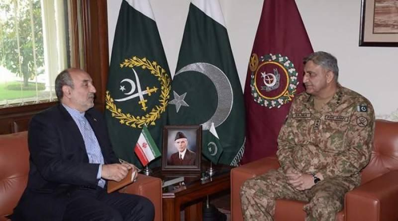 Pakistan values historic relationship with Iran: COAS