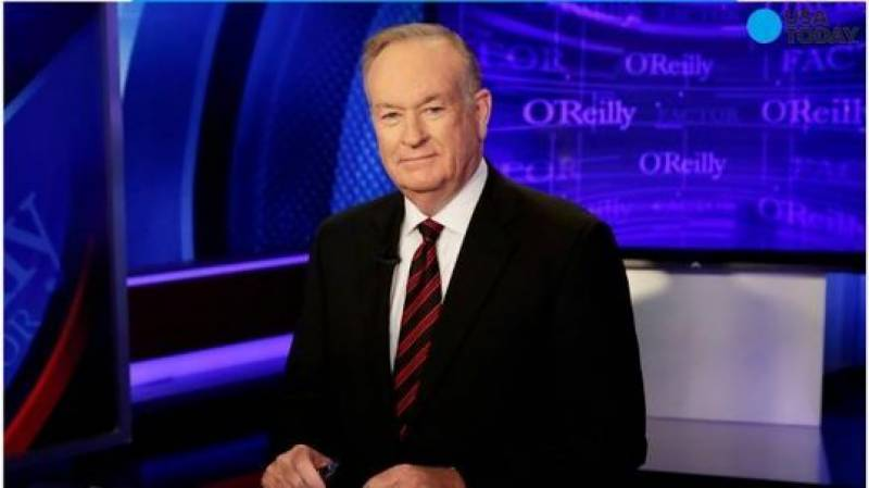 Bill O'Reilly out at Fox after sexual harassment allegations