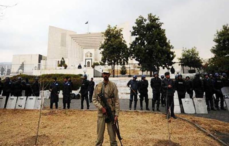 Strict security at SC ahead of Panama Leaks verdict