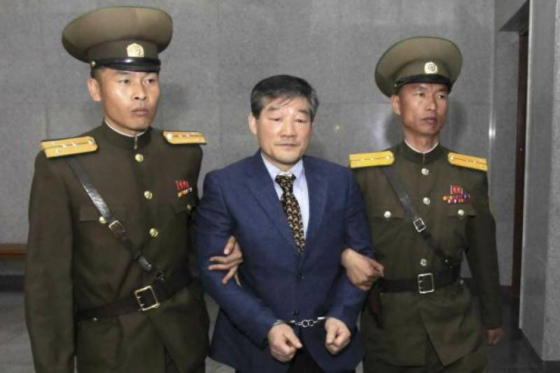 North Korea arrests another U.S. citizen spying