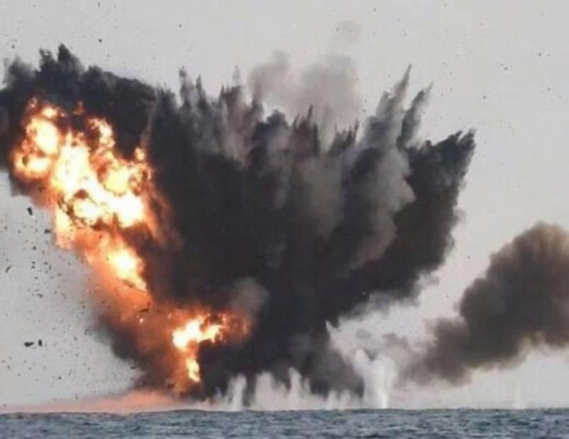 Saudi fire halts unmanned 'rebel boat bomb' from Yemen