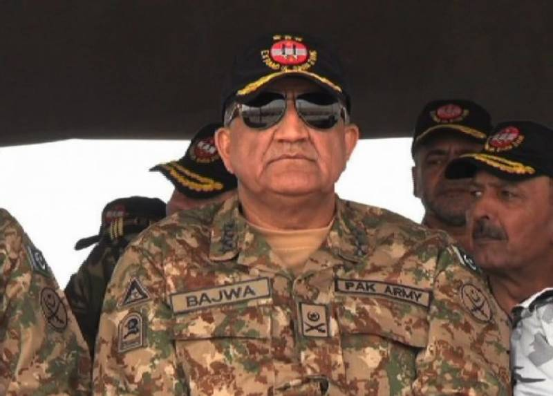 "Will rid Paistan of ""fasaadis"" of all kinds: COAS Bajwa"