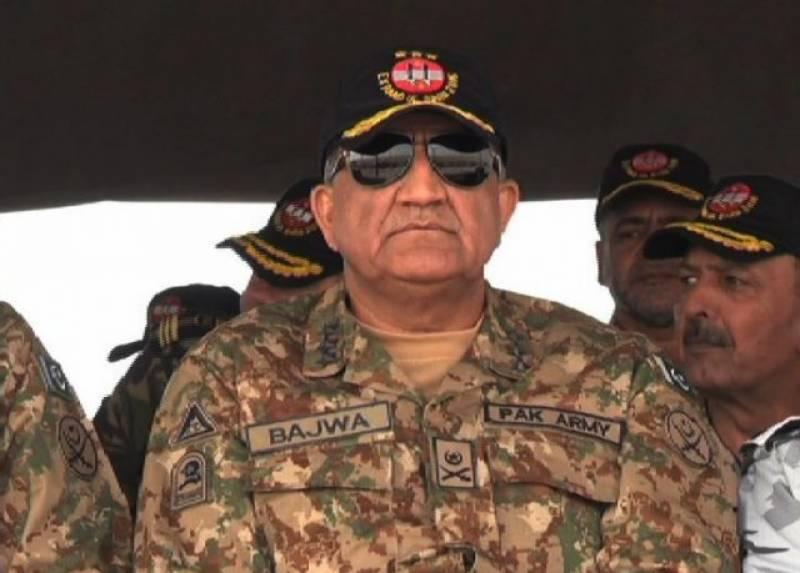 "Will rid Paistan of ""fasaadis"" of all kinds: COAS Bajwa"