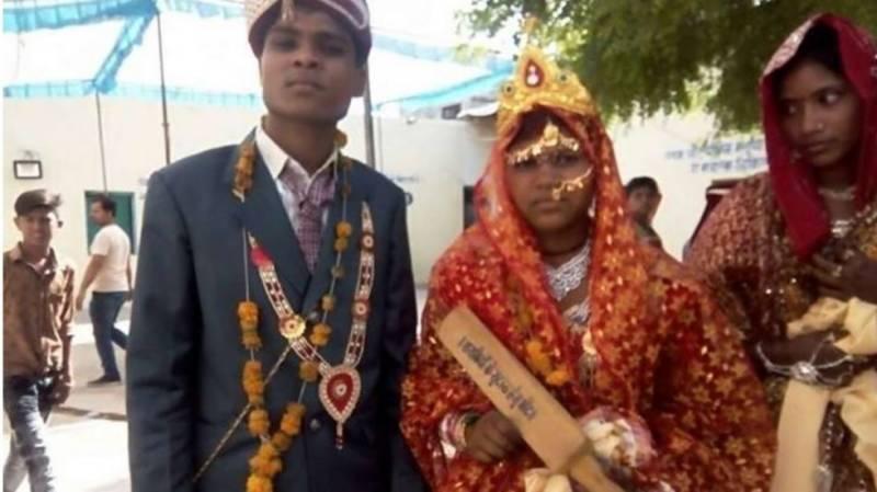 Brides get wooden paddles to beat 'drunk' husbands