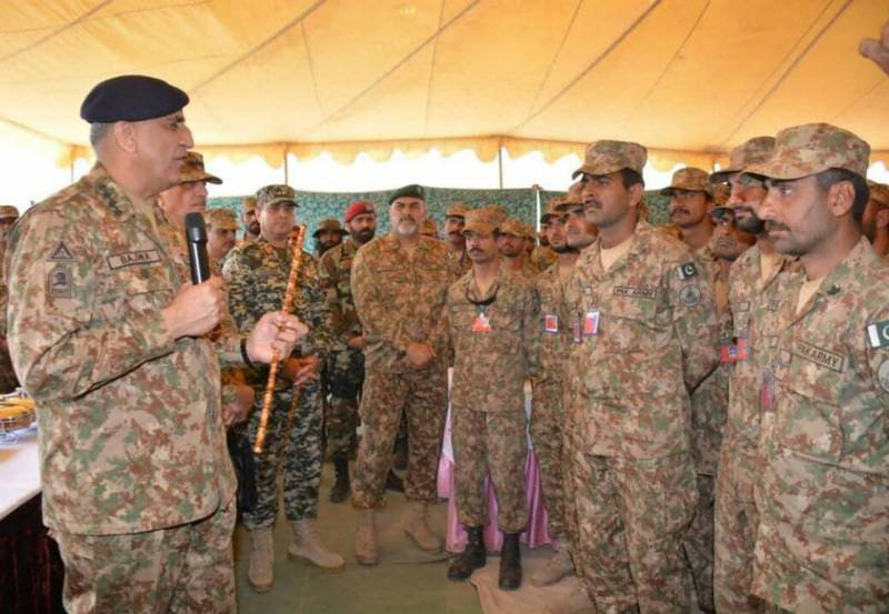 Army chief Qamar Bajwa visits Khyber Agency