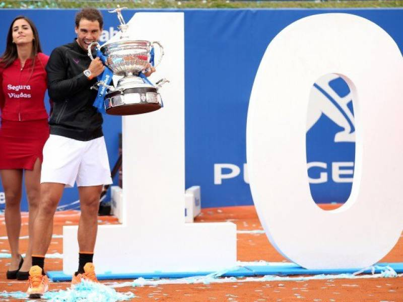 Rafael Nadal grabs 10th Barcelona Open title