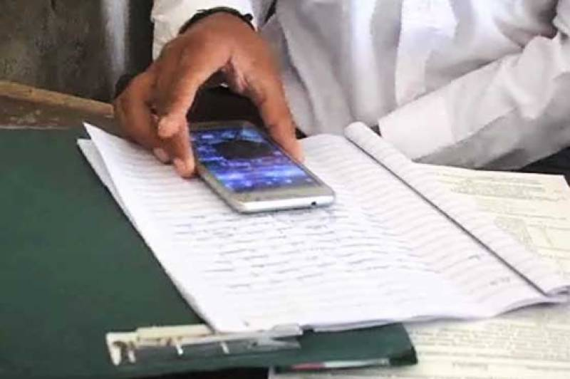 Intermediate students caught cheating via WhatsApp