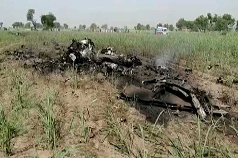 PAF training aircraft crashes near Jhang
