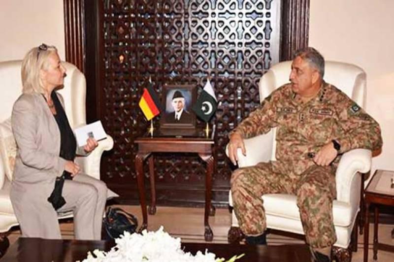 COAS Bajwa meets Germany's special ambassador