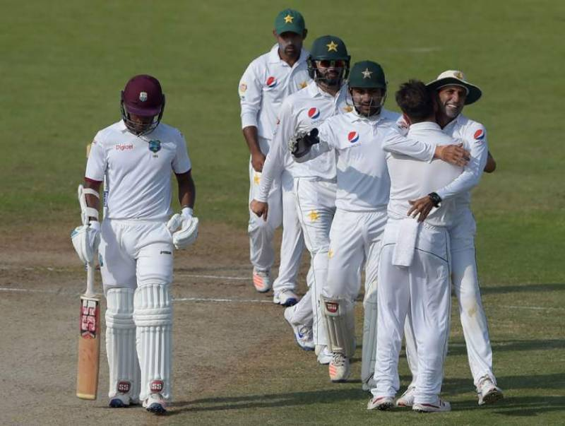 West Indies all out for 268 in second test match