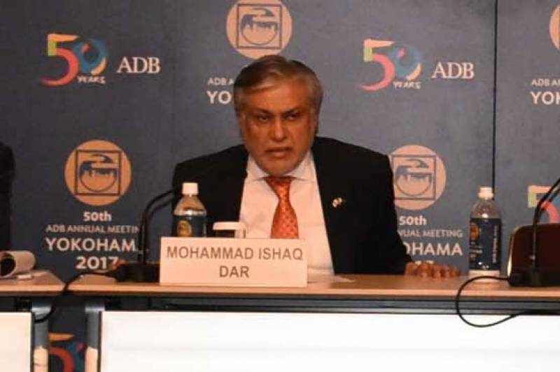 ADB likely to provide $ 2.5 billion to Pakistan: Dar