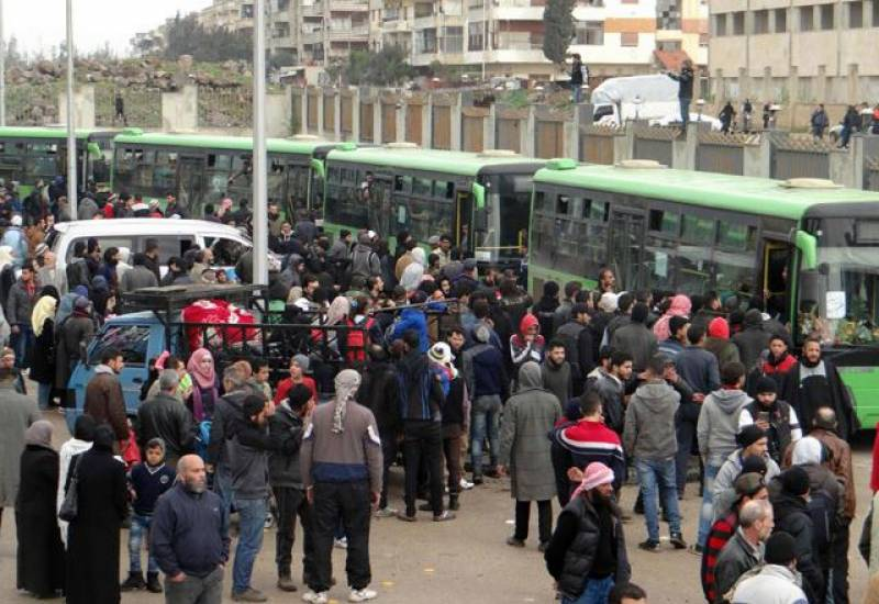 Syrian rebels begin leaving Damascus: Syrian Observatory