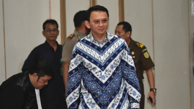 Jakarta governor Ahok found guilty in blasphemy trial
