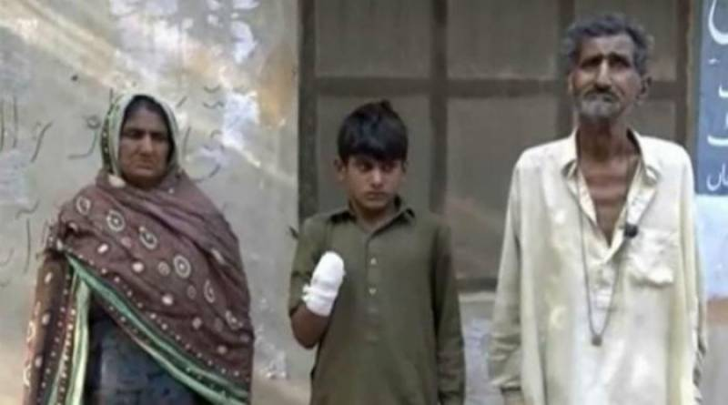 CJP takes notice of landlady allegedly cut domestic help's hand