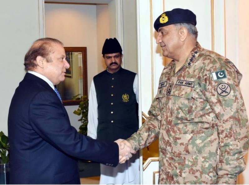 COAS Bajwa meets PM Nawaz over Dawn Leaks