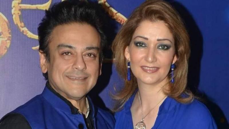 Adnan Sami, wife Roya welcome 'Medina'