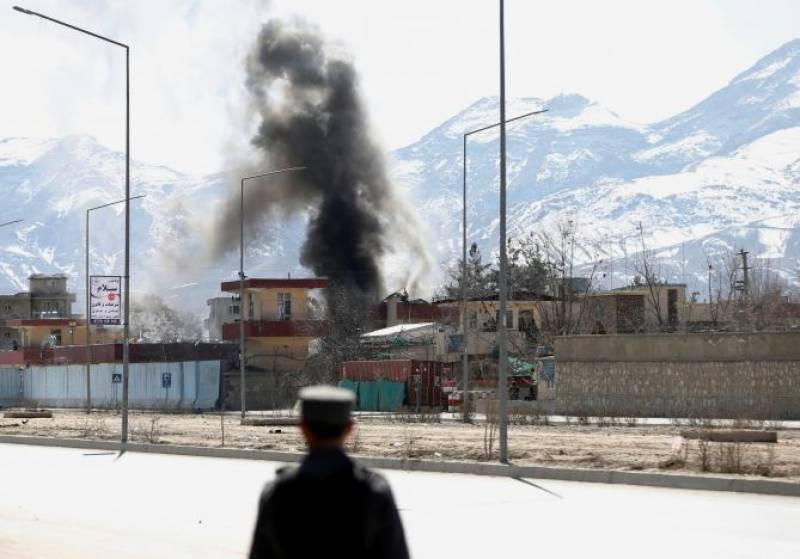 Afghanistan national TV station attacked by armed men