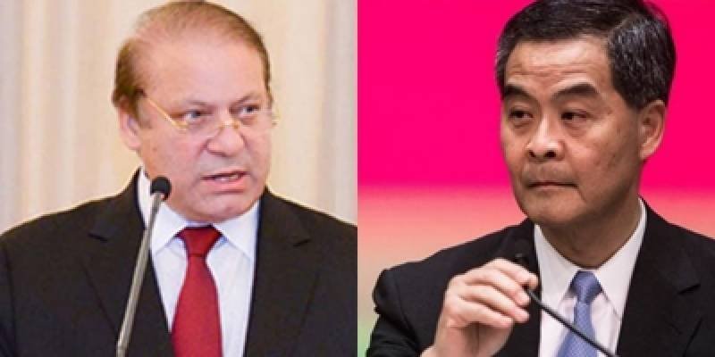 PM Pakistan and CE Hong Kong agree to further strengthen bilateral trade ties