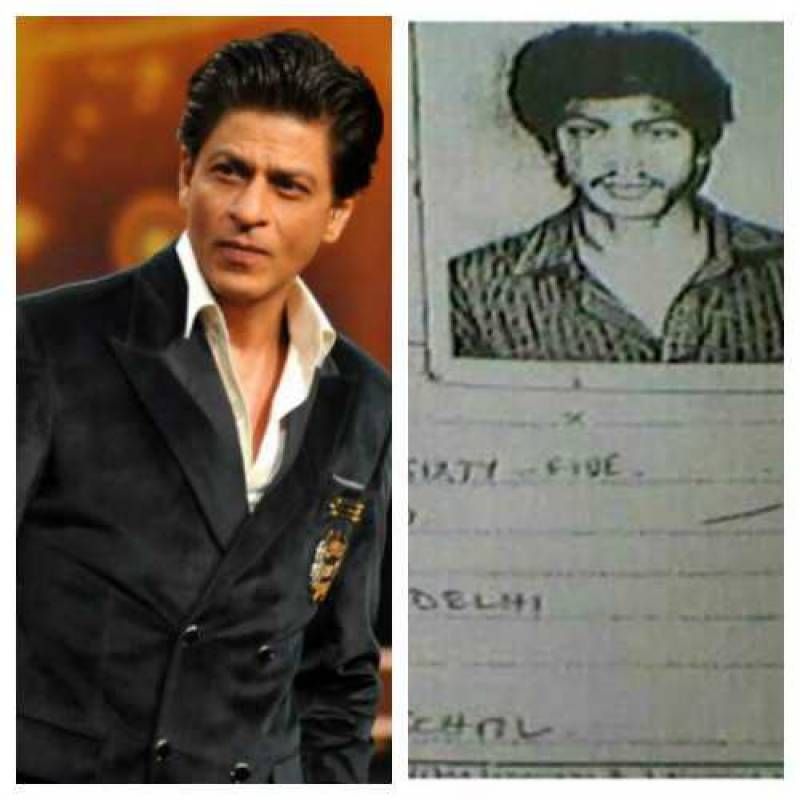 SRK's college mark sheet goes viral