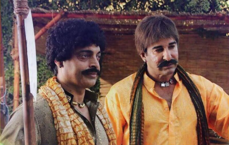 Wasim Akram, Shoaib Akhtar changed getup for local TV show