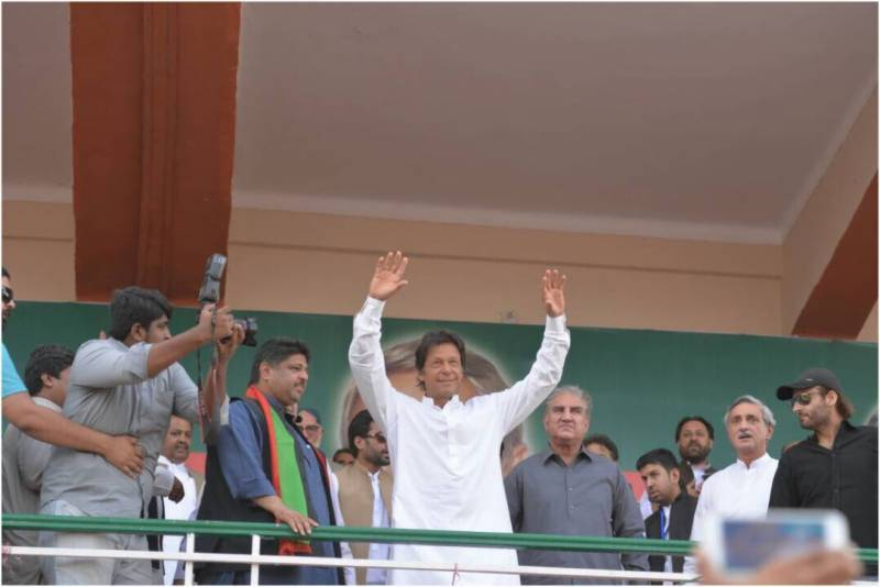 Sharif Company robs public like East India Company: Imran Khan